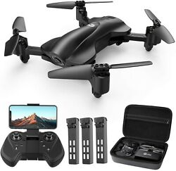 Holy Stone HS165 GPS FPV Drones with 2K FHD Camera 5G Quadcopter 3 Battery CASE $139.99