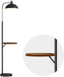 OYEARS Modern Floor Lamp with Table for Living Room Minimalist Tray Floor Lamp $128.26