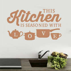 Home Decor Removable Kitchen Wall Sticker Vinyl Decal for Bedroom Living Room $6.99
