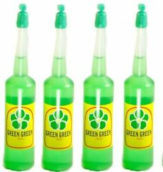 4 bottle GREEN GREEN Lucky Bamboo Plant Food FERTILIZER plant $7.88