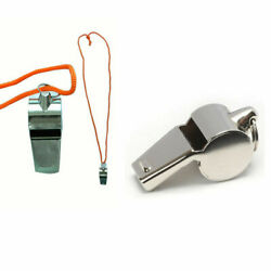 1 PC Coach Signal Referee Loud Whistle Survival Safety Sports Basketball BU WS01 $3.49