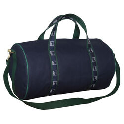 NEW Authentic 21quot; Goldman Sachs Duffle Banker Bag Navy Hunter Green $99.00