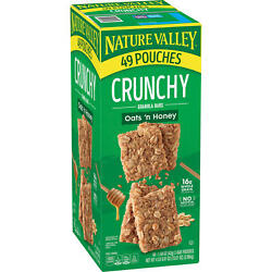 Nature Valley Oats #x27;n Honey Crunchy Granola Bars 98 ct. $19.15