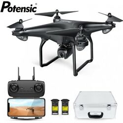Potensic D58 Drone with 1080P Camera 5G WiFi FPV RC Quadcopter with Carry Case $156.39