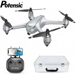 Potensic D80 Drone with 2K HD Camera GPS FPV RC Quadcopter Brushless Motor $179.99