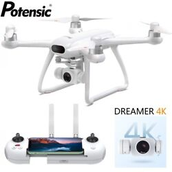 Potensic Dreamer 4K Drone HD Camera Brushless RC Quadcopter FPV GPS WiFi Drones $289.99