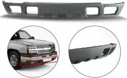 New Front Lower Bumper Valance Textured Gray For Chevrolet Avalanche 2500 03 06
