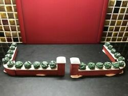 Lemax Dickensvale Porcelain Brick Wall for Christmas Village Excellent Condition $9.67