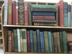 Lot of 20 Antique Collectible Vintage Old Rare Hard To Find Books *MIX UNSORTED* $59.99