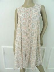 Nwt BCBGeneration Trapeze Sleeveless Cocktail Chiffon Dress Sz L Large Pink $64.95