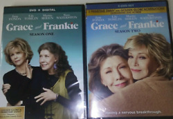 GRACE AND FRANKIE TV COMPLETE SEASONS ONE amp; TWO 6 DVDs $16.99