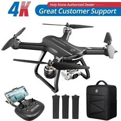 Holy Stone HS700D FPV Drone with 4K FHD Camera 5G Wifi RC Quadcopter Brushless $219.99