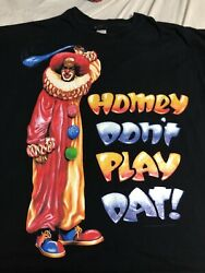 Vintage In Living Color Homey D The Clown Rap Tee 3X 4X 30x32.5 $499.99
