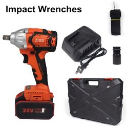 20V Cordless Impact Wrench 1 2quot;Brushless Electric Wrench Driver 520Nm w Battery $59.98