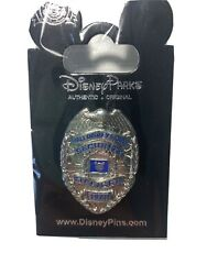 Disney World Security Officer Badge 1971 Pin quot;VERY RAREquot; NEW SEALED $11.50
