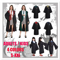 丨Harry Potter Halloween Costume for Adult and Student Hogwarts College Clothing