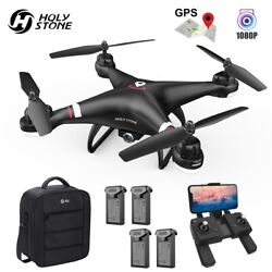 Holy Stone HS110G GPS FPV Drone with 1080P HD Camera Quadcopter Follow Me Selfie $79.90