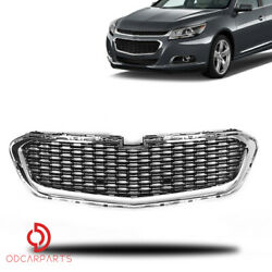 Fits 2014 2015 Chevrolet Malibu Front Radiator Lower Grille Chrome Black Factory $85.00