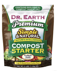 Dr. Earth Premium Compost Starter 3 lb $21.87