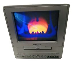 ORION TVDVD092 9quot; CRT TV DVD Player WORKS GREAT No Remote $69.00