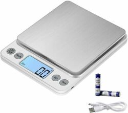 Portable 500g x 0.01g Digital LCD Scale Jewelry Kitchen Food Balance Weight Gram $13.99