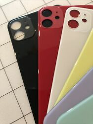 Replacement Glass Rear Back Door Cover For iPhone 11 11 Pro 11pro max Big Hole $12.75