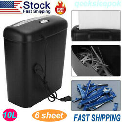 Commercial Office Shredder Paper Destroy Strip Cut Heavy duty Paper Credit Card
