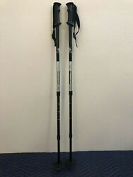 Yukon Charlies Adjustable Hiking Trekkiing Poles Snowshoeing Trail Walking NICE $28.00