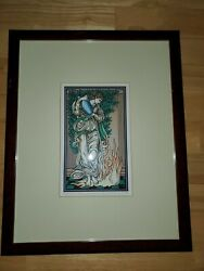 The Alchemical Tarot Print quot;TEMPERANCEquot; by Robert M. Place Rare Signed 39 1000 $125.00