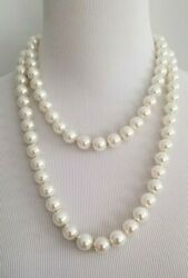 CHICO#x27;S CONVERTIBLE FAUX PEARL DOUBLE STRAND NECKLACE $27.00