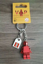 LEGO® Red Chrome VIP Minifigure Keychain 5005205 6195777 New with Tag $11.89