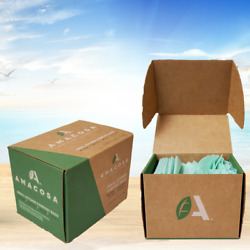 AMACOSA Compostable Small Kitchen Waste Bags 90 count 3gal 17x16 Eco package $24.99