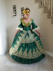 Marie Antoinette Rococo 18th Century Party Dress $75.00