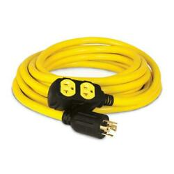 25 ft. 240 volt generator power cord champion equipment each outdoor flexible $75.00