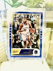 2019 20 Chronicles Classics ERIC PASCHALL RC GOLD 10 SSP Warriors 🔥 RARE 🔥 $54.75