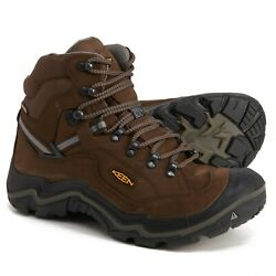 Keen Durand II Mid Waterproof Men#x27;s Hiking Work Boots WIDE Made in the USA $99.99