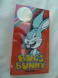 NEW VTG Bugs Bunny Vol 1 UAV Cartoon Classics Collection VHS 4 Movies in Color $11.99