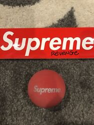Supreme Red Sky Bounce Ball S S16 BRAND NEW DS $40.00