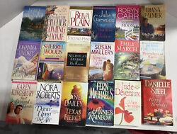 Lot of 20 Contemporary Romance Novels Random Mix Top Authors Ships FREE $15.99