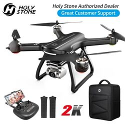 Holy Stone HS700D FPV GPS Drone 2K FHD Camera Quadcopter Brushless 2 Battery Bag $219.99