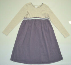 Hanna Andersson Tulle Dream Dress Purple Girl sz 150 EU 12 US $20.00