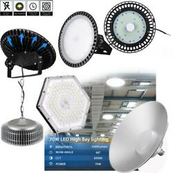 LED High Bay Light 50W 300W Industrial Commercial Light Warehouse Fixture UFO US