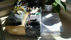 Bitmain Antminer S9 13.5 TH s w PSU Bitcoin BTC ASIC Miner BARELY USED $100.00