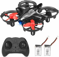 Mini Drones for Kids RC Drone with Altitude Hold 3D Flips Self Rotating Headless $28.99