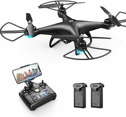 Holy Stone HS110D FPV RC Drone with 1080P HD Camera WiFi Quadcopter 2 Batteries $55.99