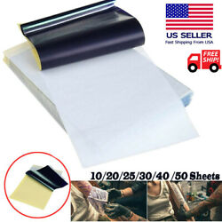 Tattoo Transfer Paper Stencil Carbon Thermal Tracing Hectograph Supplies Sheets $6.85