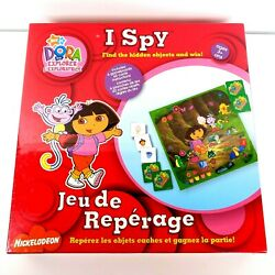 Dora The Explorer I Spy Board Game New Sealed Nickelodeon For Ages 3 And Up Rare C $49.99