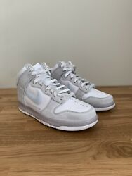 Nike Dunk High Slam Jam White Pure Platinum Size 9.5 Mens In Hand $375.00