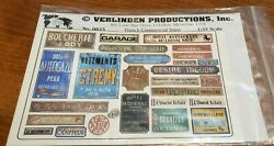 Verlinden #0023 French Commercial signs 1 35 scale