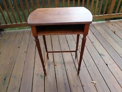 Rare True Grand Rapids Antique Table Side Pc Early 1900#x27;s $225.00